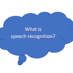 What is Dragon speech recogntion?